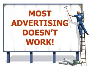 Advertising doesn't work