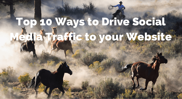 Top 10 Ways to Drive Social Media